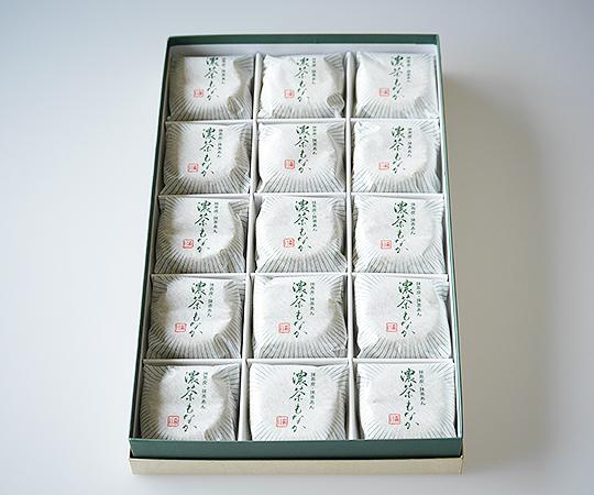 《森八》濃茶もなか15個入