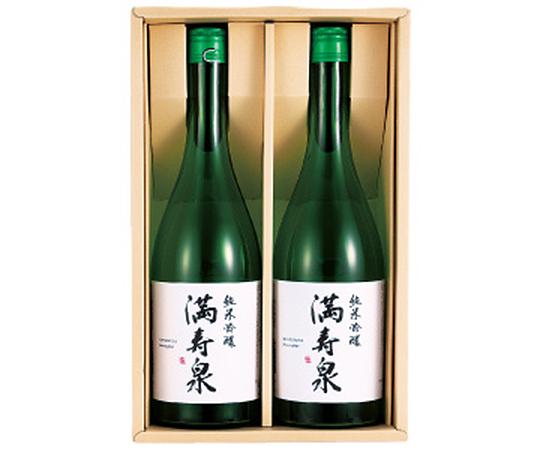 《富山・桝田酒造店》満寿泉 純米吟醸酒2本入