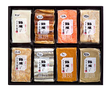《鮨蒲本舗河内屋》鮨蒲8本セット