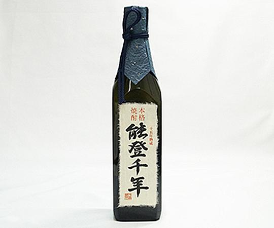 《珠洲・日本発酵化成》麦焼酎 能登千年 樽貯蔵15年熟成酒