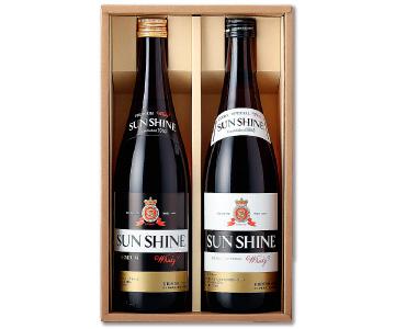 《砺波・若鶴酒造》サンシャイン ウイスキー呑み比べセット