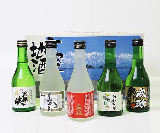 富山の地酒5本セット