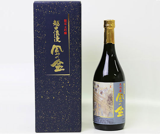 《富山・福鶴酒造》越中浪漫 風の盆 限定大吟醸 720ml