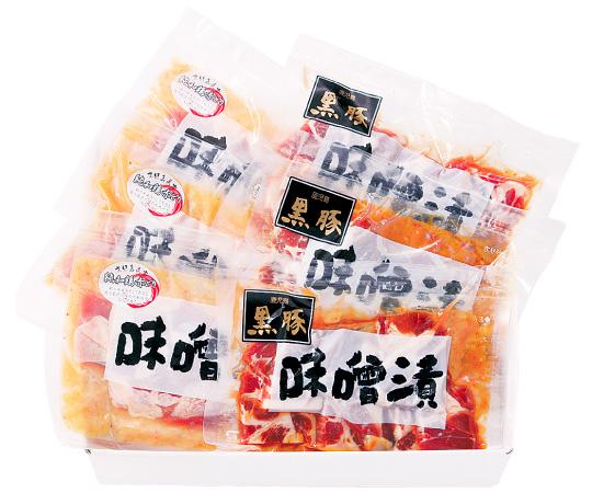 鹿児島県産豚・鶏味噌漬けセット
