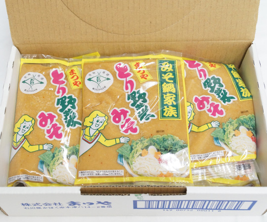 《かほく・まつや》とり野菜みそ12個入(自宅用/のし・包装不可)