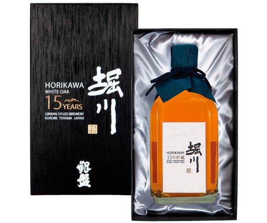 《銀盤酒造》堀川15年