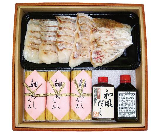 〈三重/おわせ久喜〉鯛しゃぶ・雑炊セット