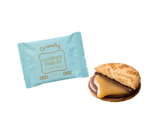 〈神戸風月堂〉キャラメルティ サンドウィッチクッキー 4個入