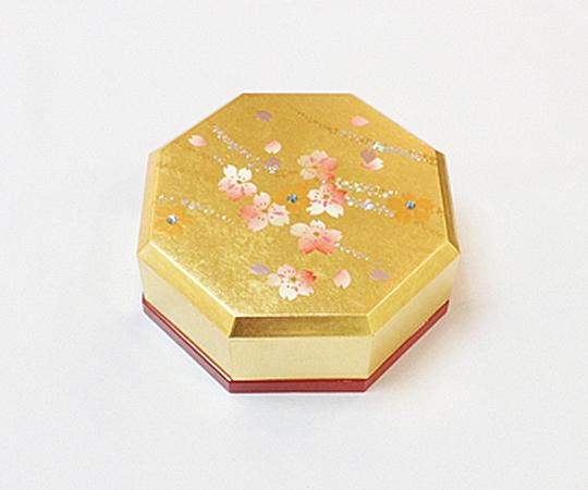 《金箔 箔一》きらり 八角小箱