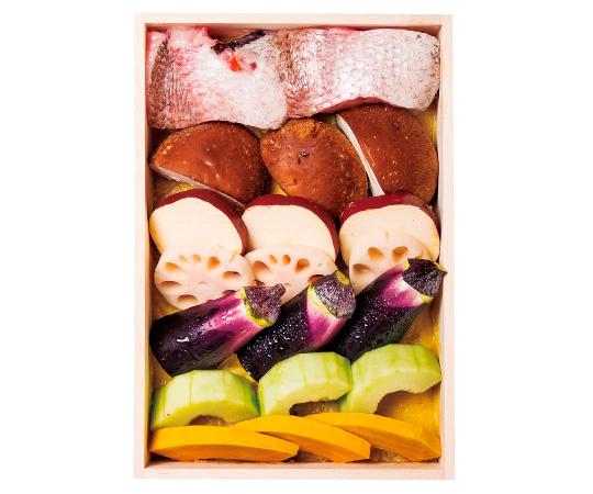 〈金沢/日本料理銭屋〉のどぐろと地物野菜のみそ漬