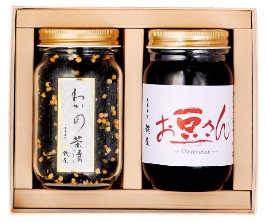 〈金沢/日本料理銭屋〉わかめ茶漬と黒豆セット