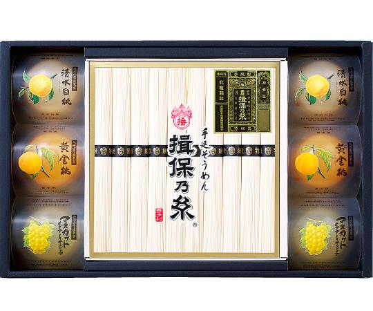 〈兵庫〉手延素麺 揖保乃糸 フルーツゼリー詰合せ