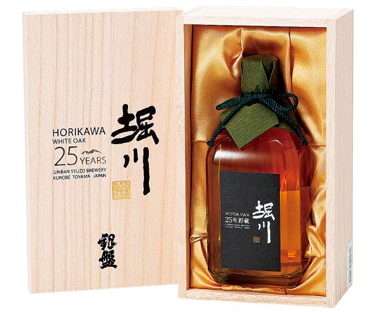 《黒部・銀盤酒造》堀川25年貯蔵