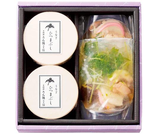 〈京都/京料理 たん熊北店〉うなぎひつまぶしとお吸い物セット