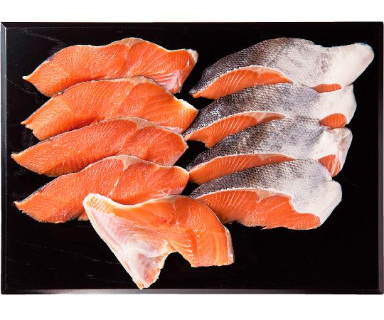 〈石川/十字屋〉北海道産時鮭切身詰合せ