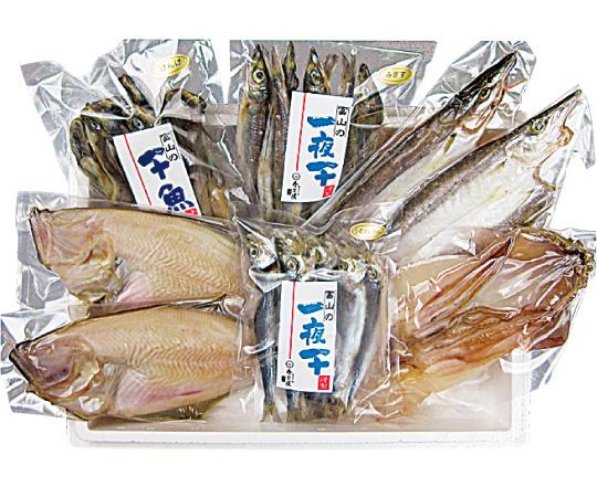 【直送】〈富山/寿々屋〉日本海のお魚一夜干し詰合せ