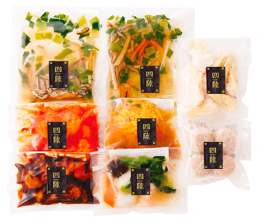 【直送】〈四陸〉本格中華料理セット