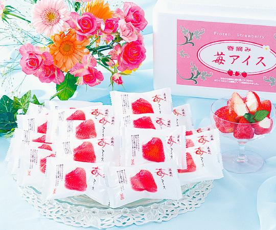 【直送】春摘み苺アイス