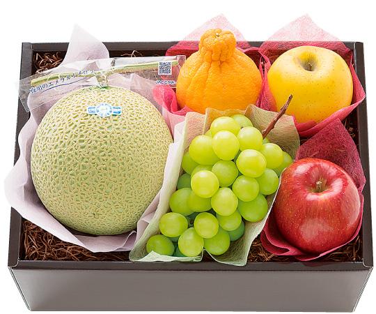 【直送】〈Celeb de Gifts〉冬の極上気分フルーツ5種