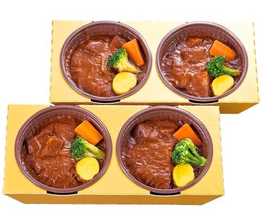 【直送】〈神戸 のじぎく家〉電子レンジで簡単調理 神戸牛のビーフシチュー