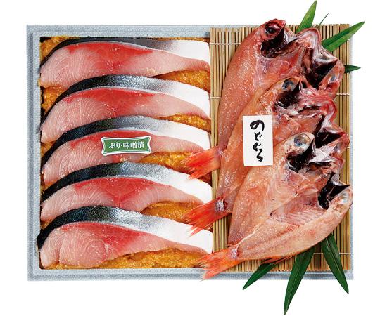 〈金沢/十字屋〉のどぐろ一夜干・ぶり味噌漬詰合せ