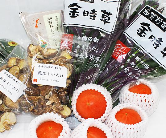 <堀他>石川の野菜・加工品BOX